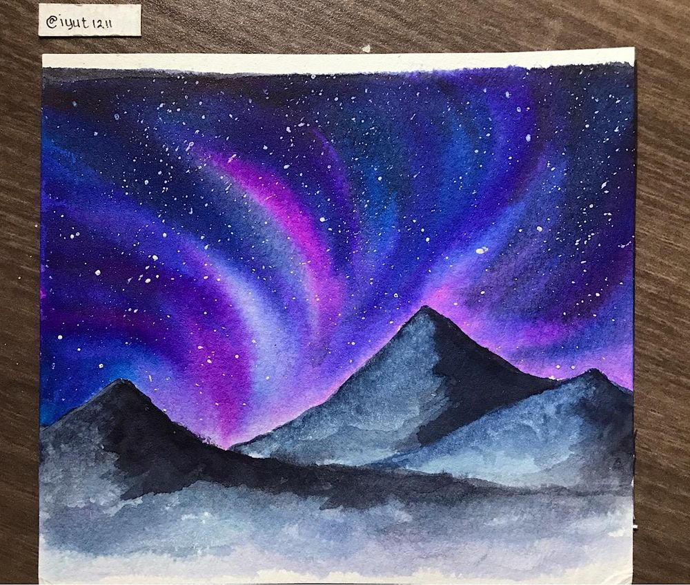 Northern Lights Sky - image 1 - student project