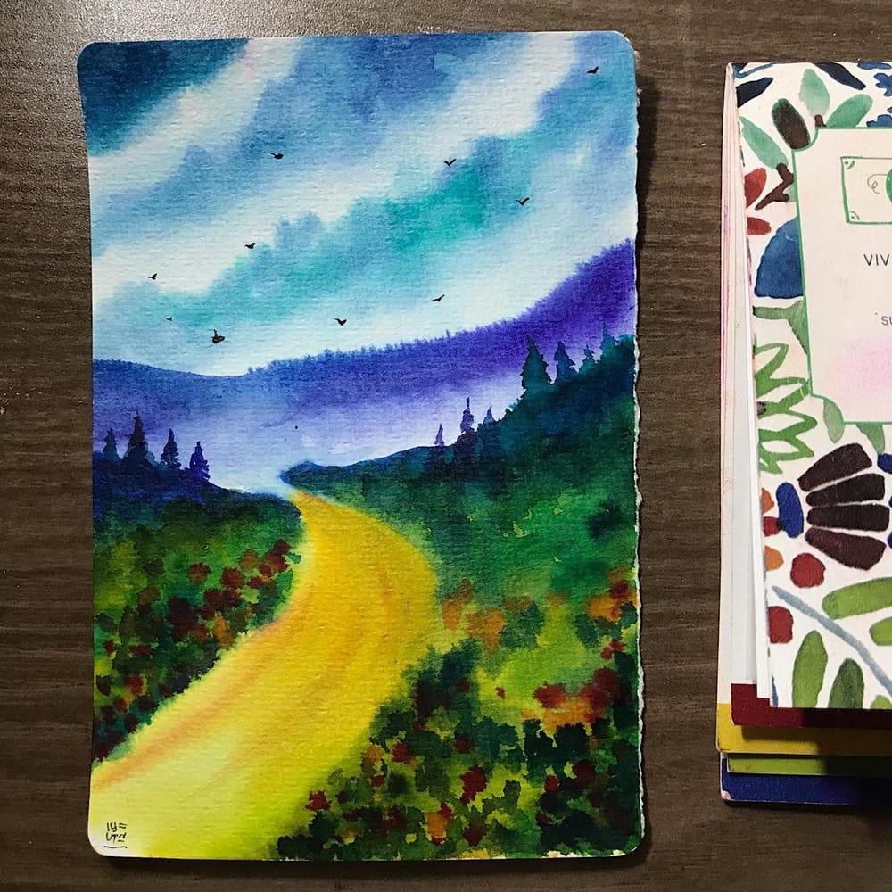 Vibrant Landscapes - image 3 - student project