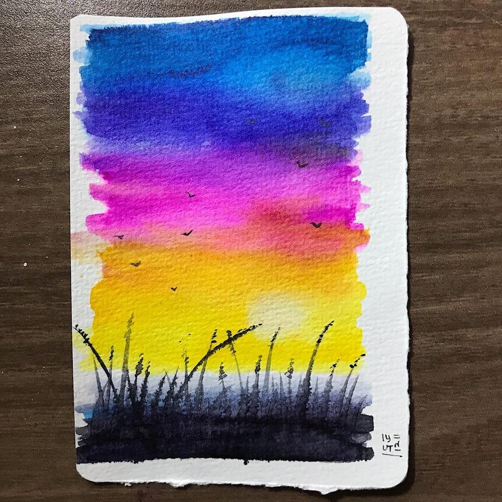 Vibrant Landscapes - image 1 - student project