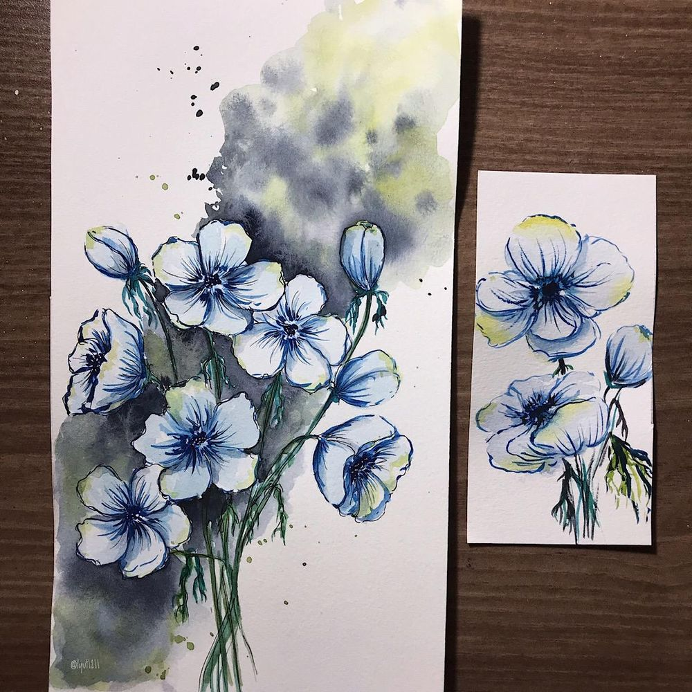Winter Flowers - image 1 - student project