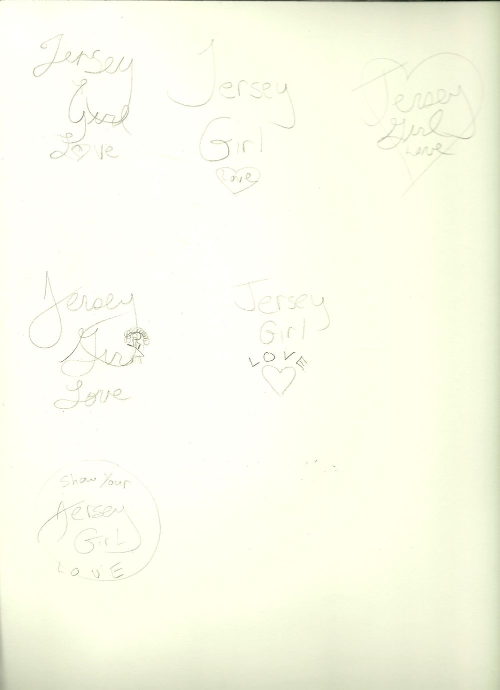 JGL logo sketches - image 2 - student project