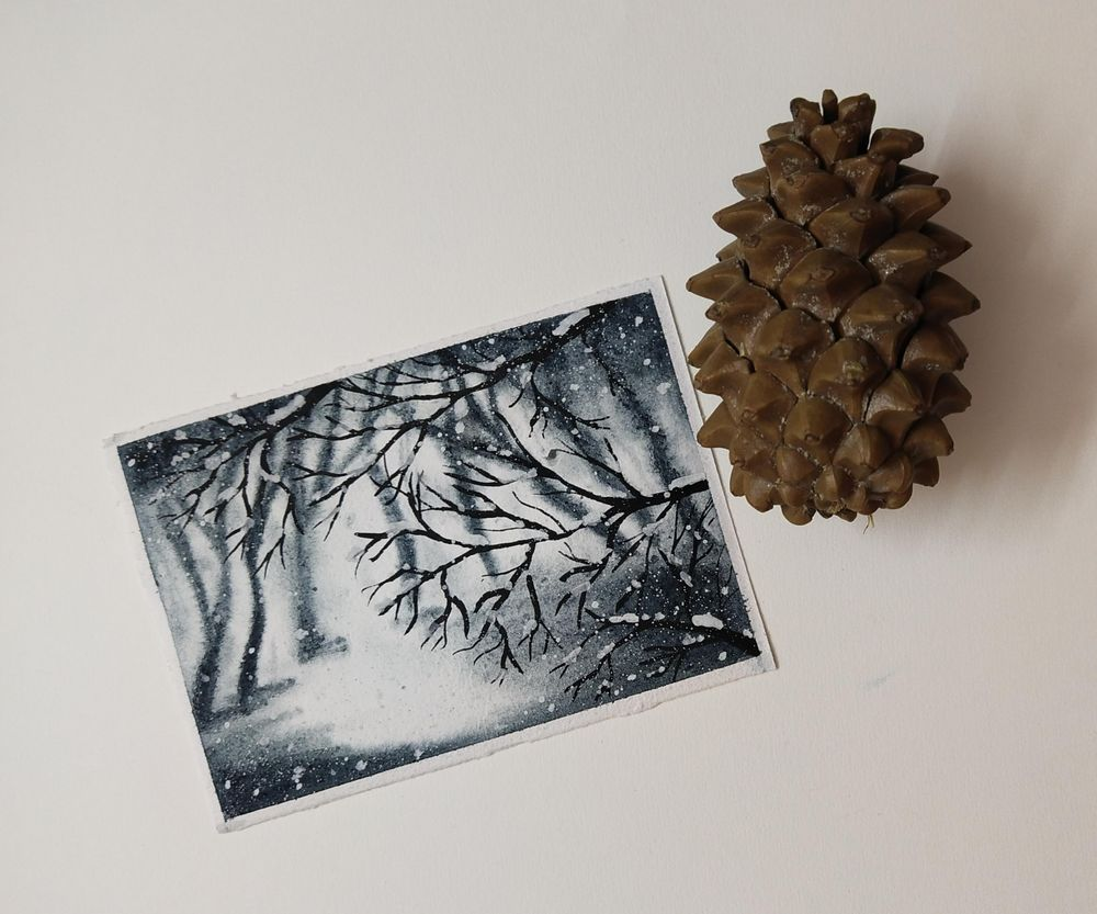 Winter Paintings - image 2 - student project