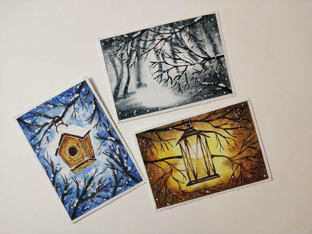 Winter Paintings - image 4 - student project