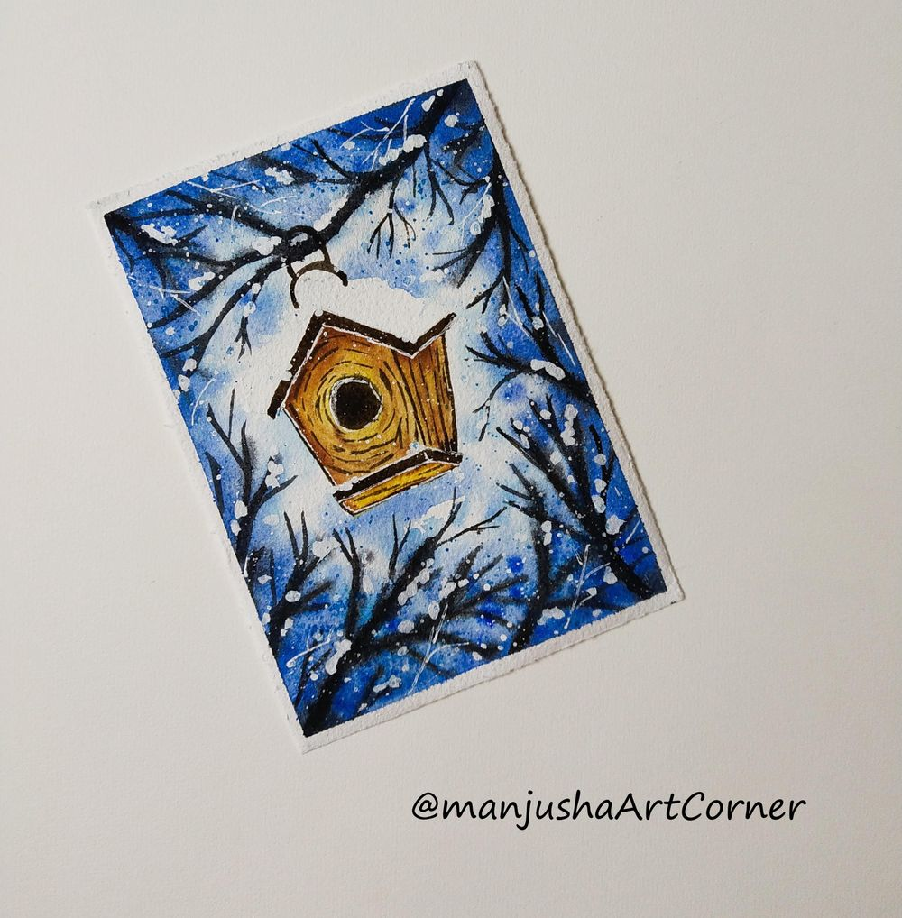 Winter Paintings - image 3 - student project