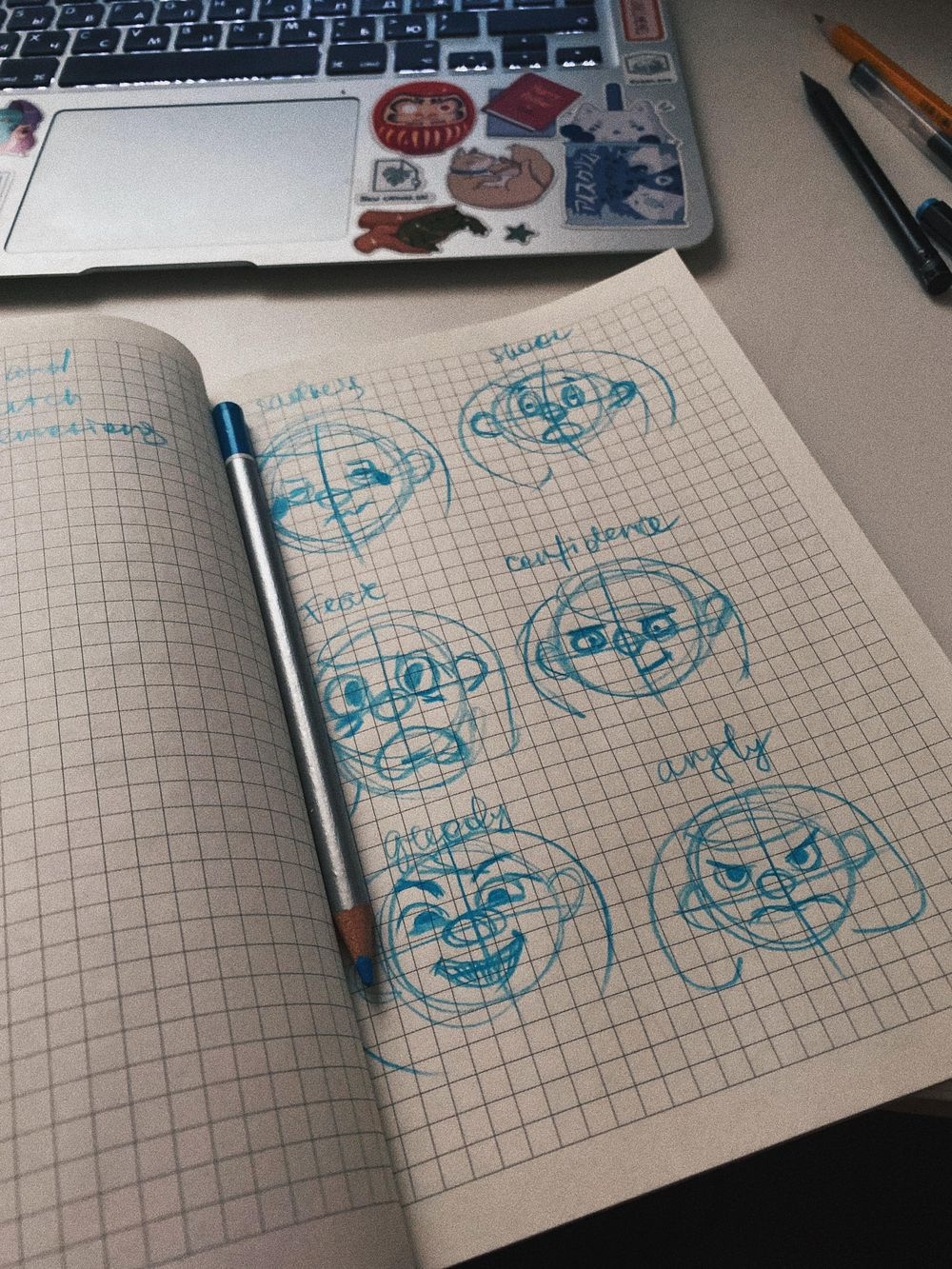 face expressions - image 1 - student project