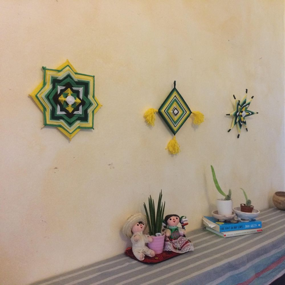 Ojo de Dios: Weave a  spiritual piece to your home - image 2 - student project