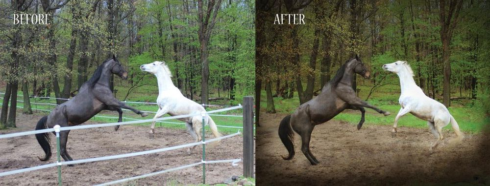 Before and After  - image 4 - student project