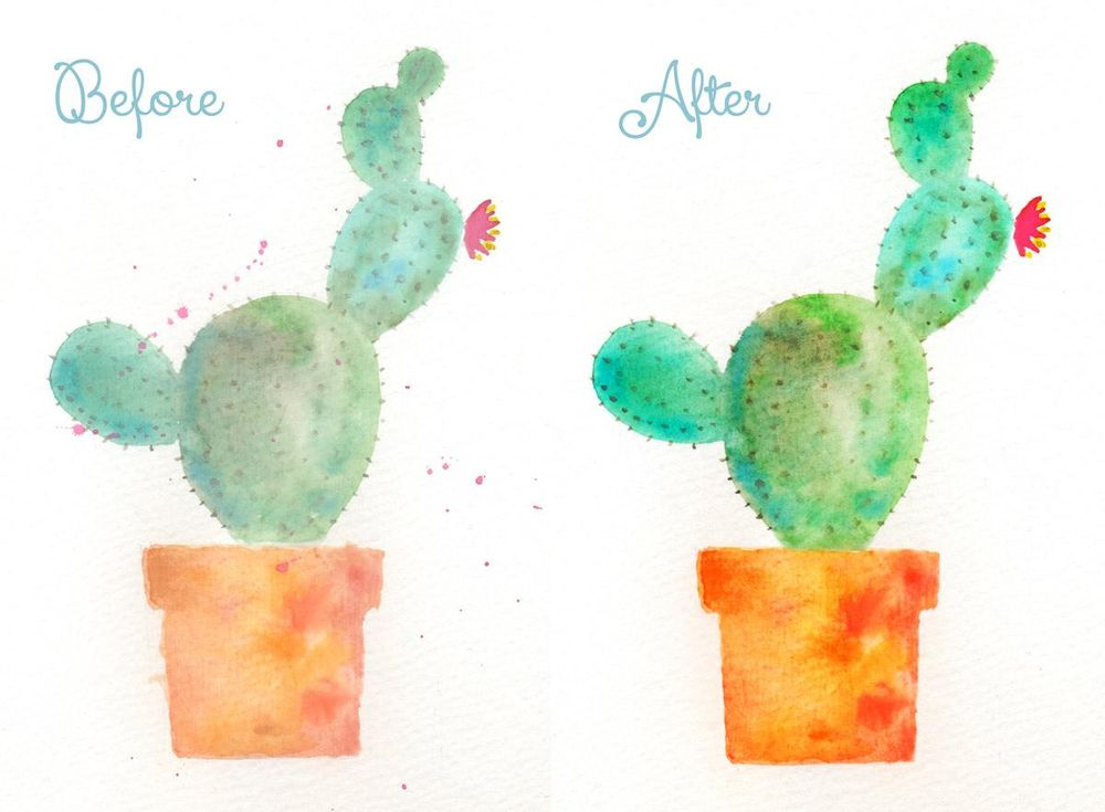 Before and After  - image 1 - student project