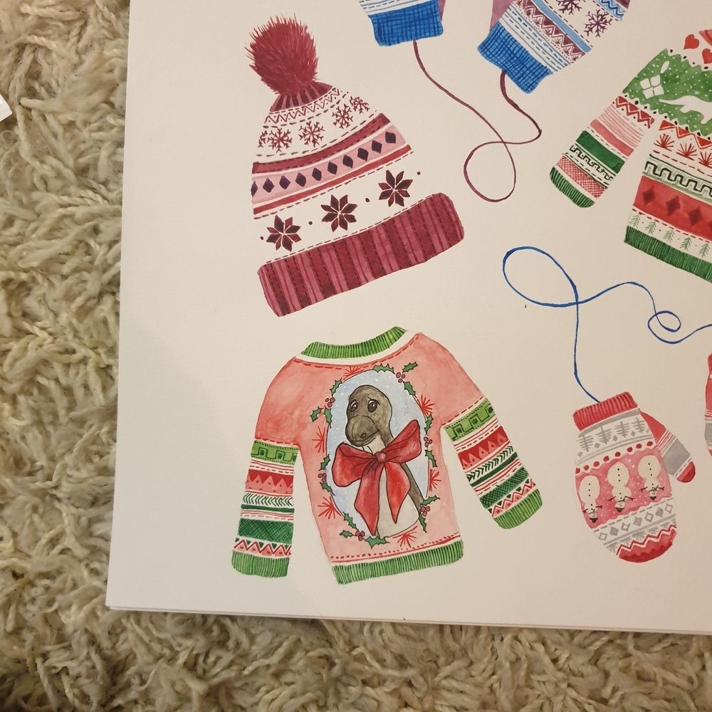 Cute Christmas patterns - image 4 - student project