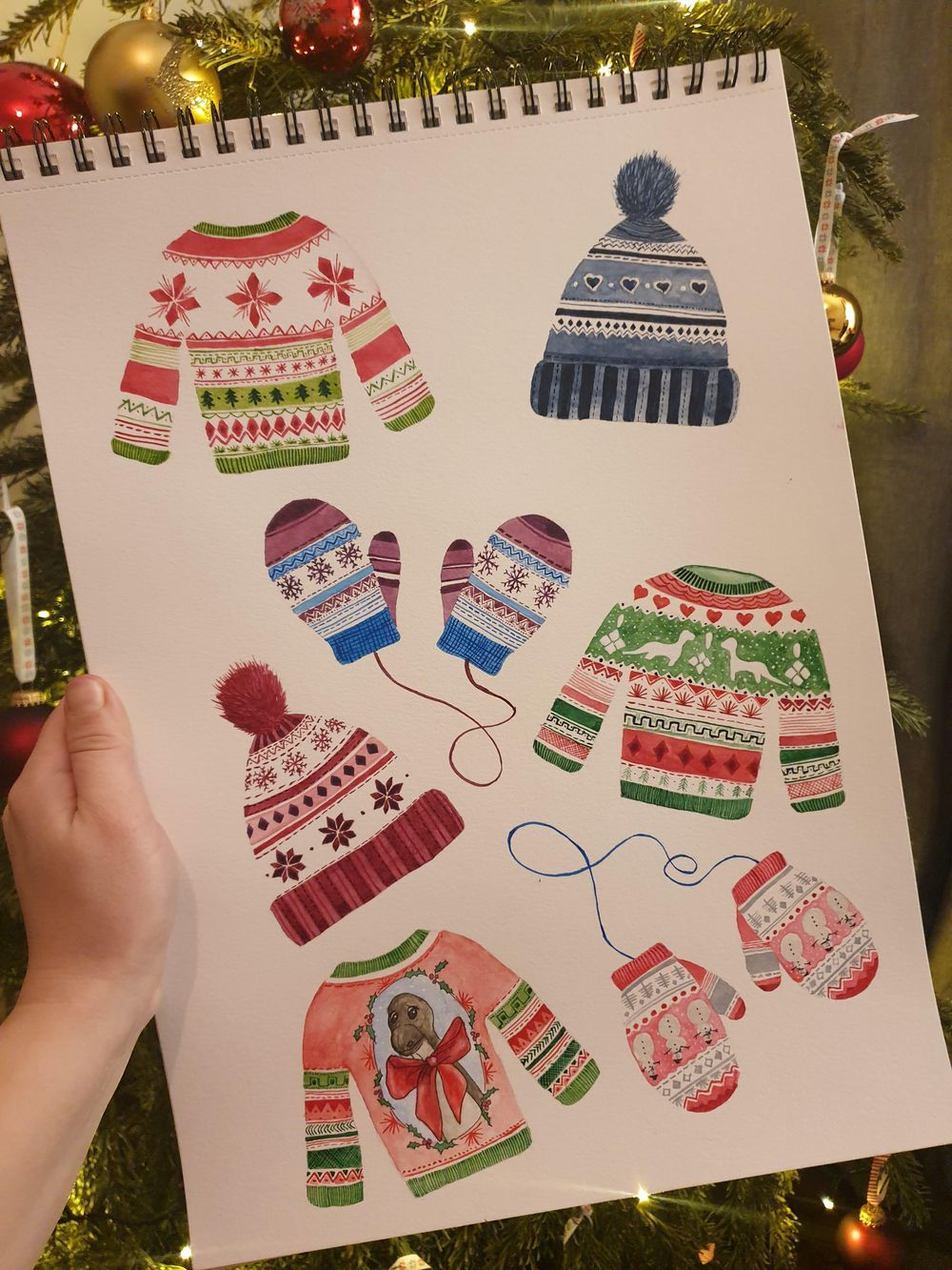 Cute Christmas patterns - image 1 - student project