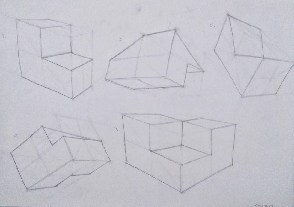 Organic Forms and Boxes - image 9 - student project