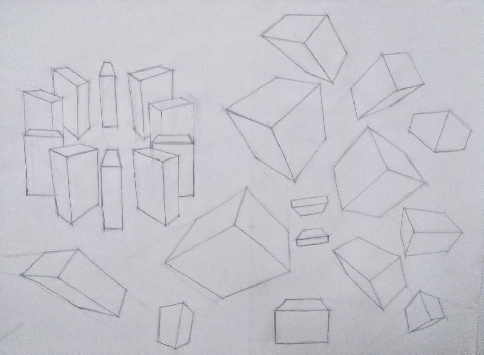 Organic Forms and Boxes - image 7 - student project