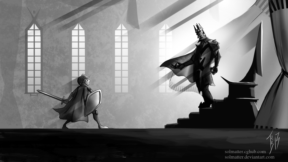 Facing the Evil King (Update) - image 1 - student project