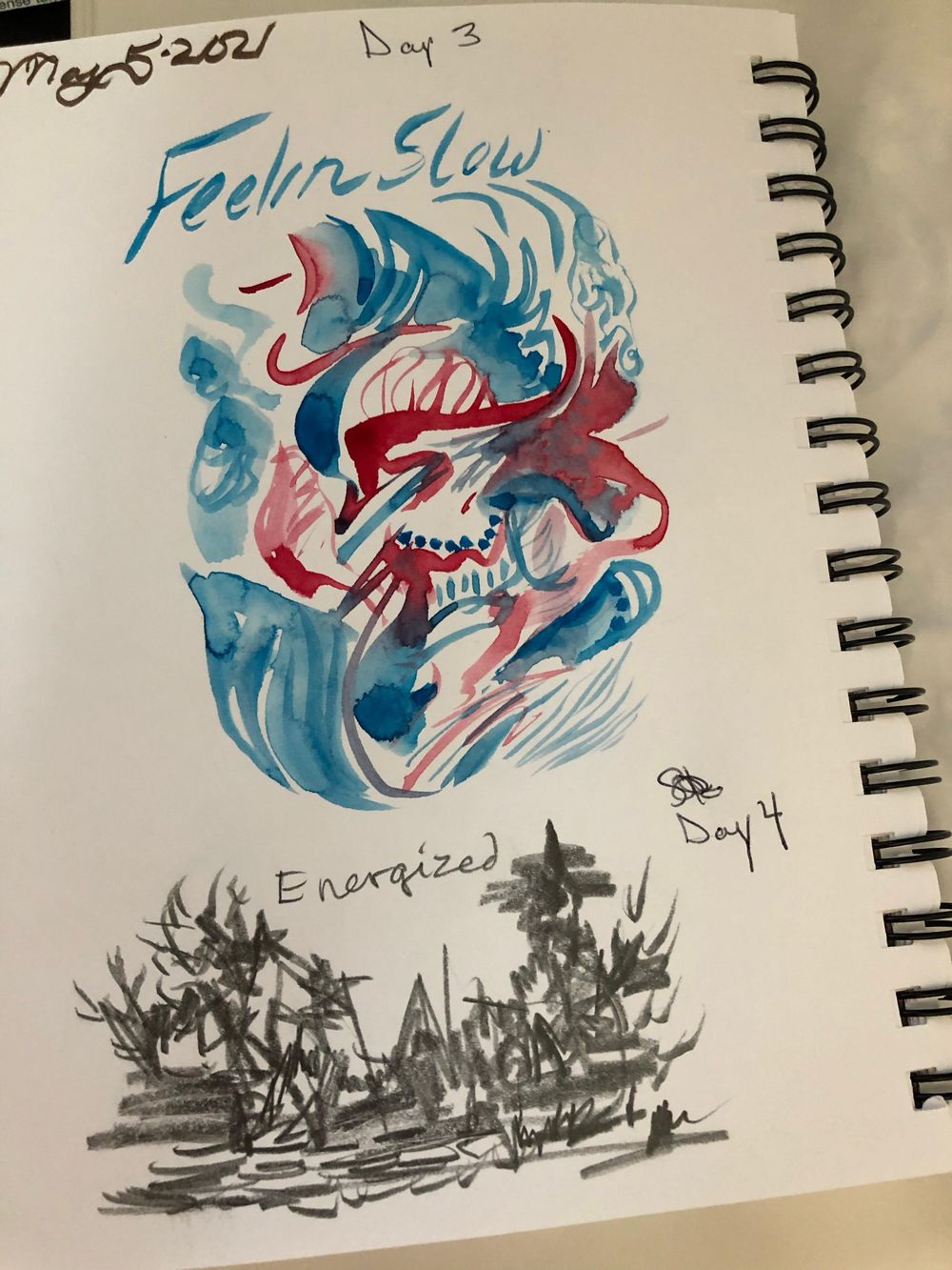 Fearless Sketchbook - image 3 - student project