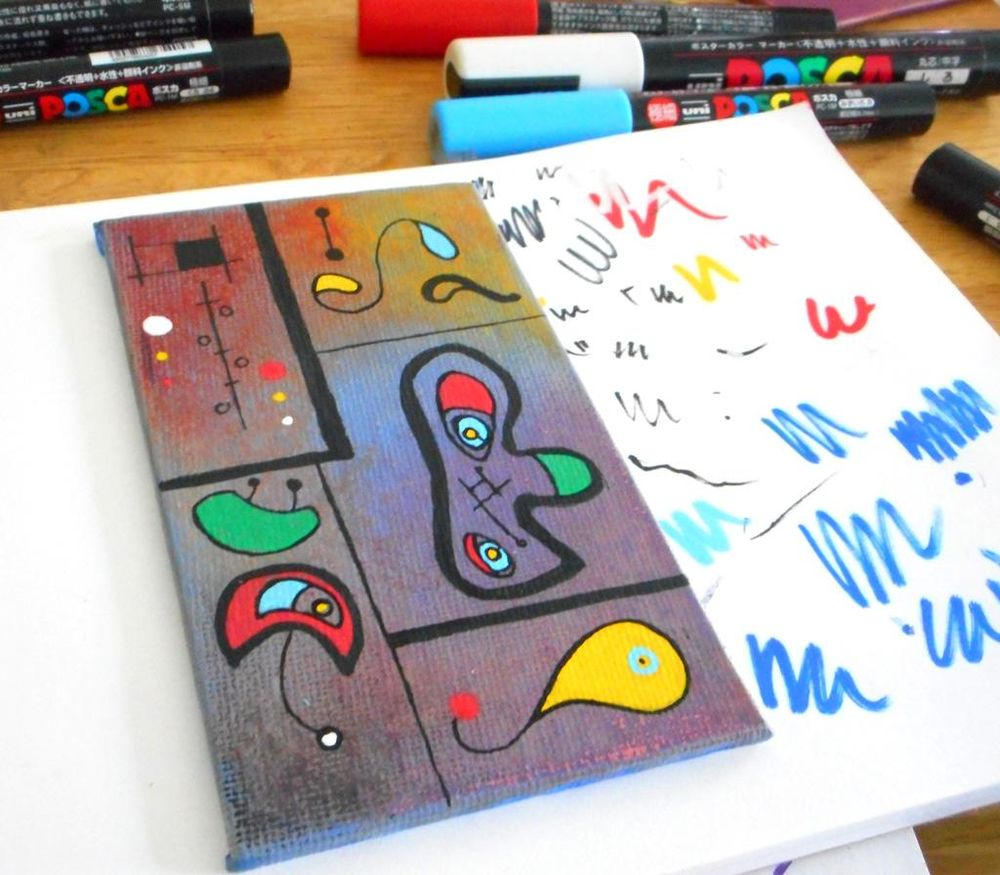 Miro a Miró - image 5 - student project