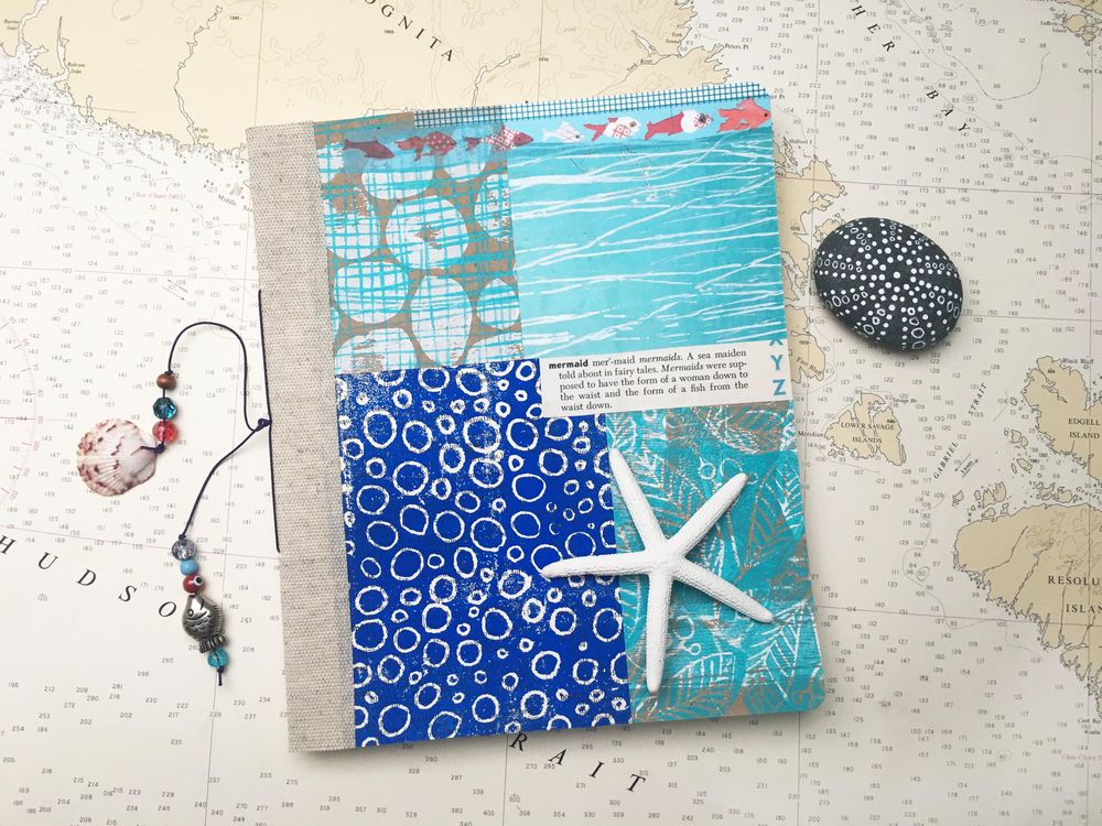 Mermaid themed Gypsy Journal - image 1 - student project