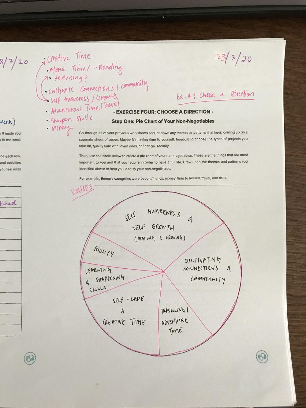 Worksheet Reflection - image 2 - student project