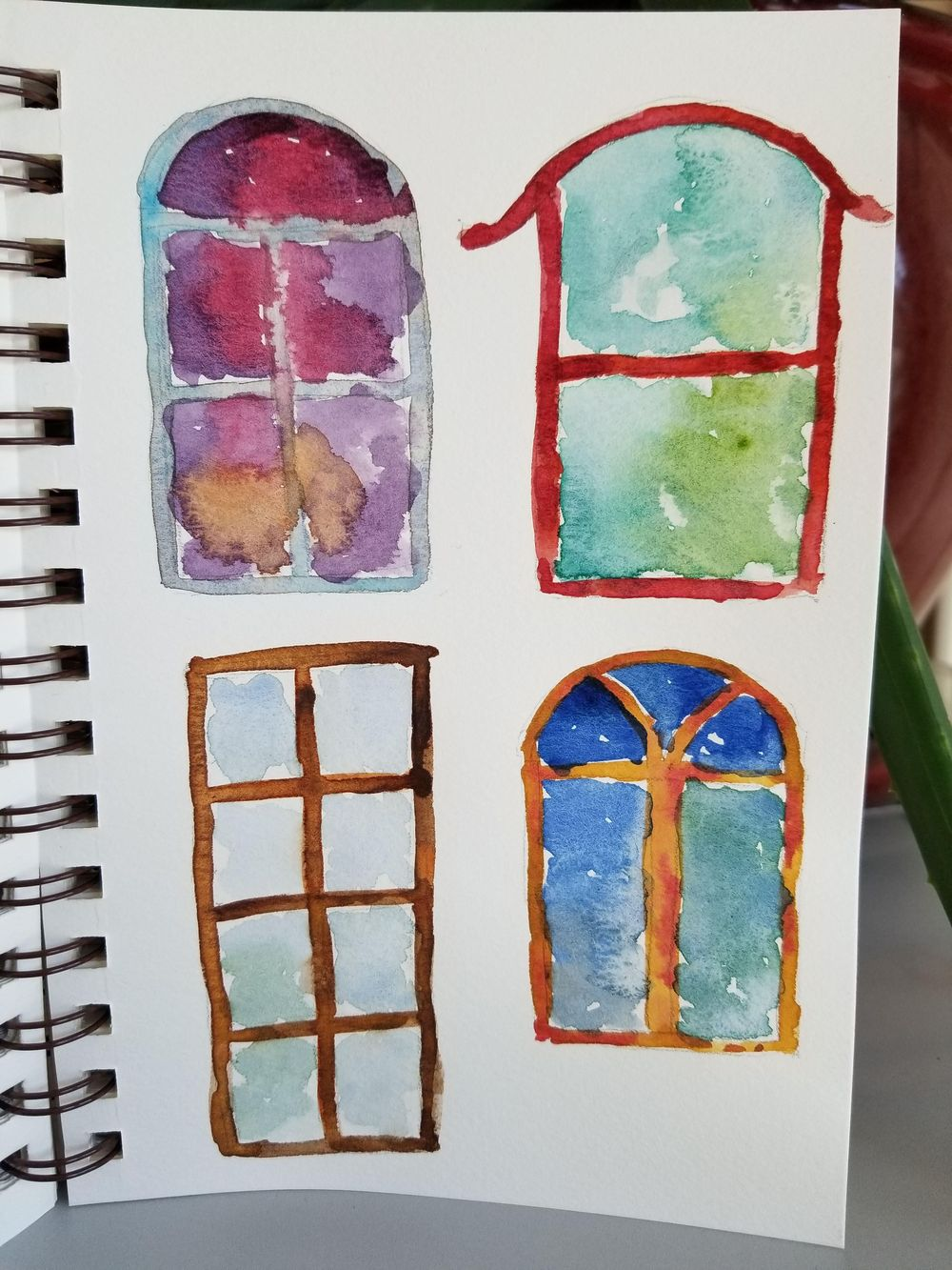 Flower & Window Warm-ups - image 2 - student project