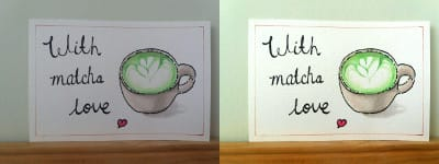 Matcha latte - image 2 - student project