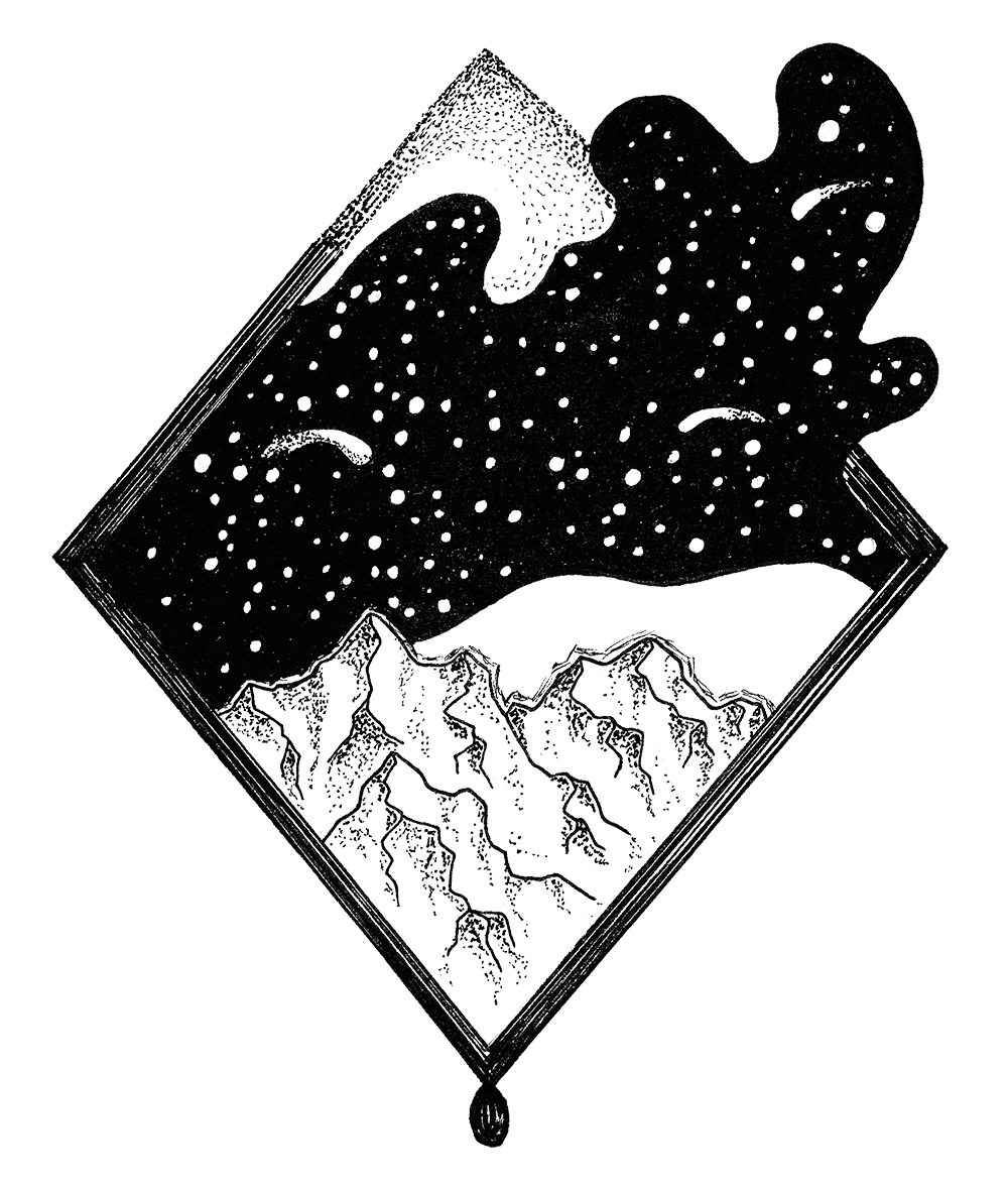 Drawing Galaxies with Fineliners - image 3 - student project