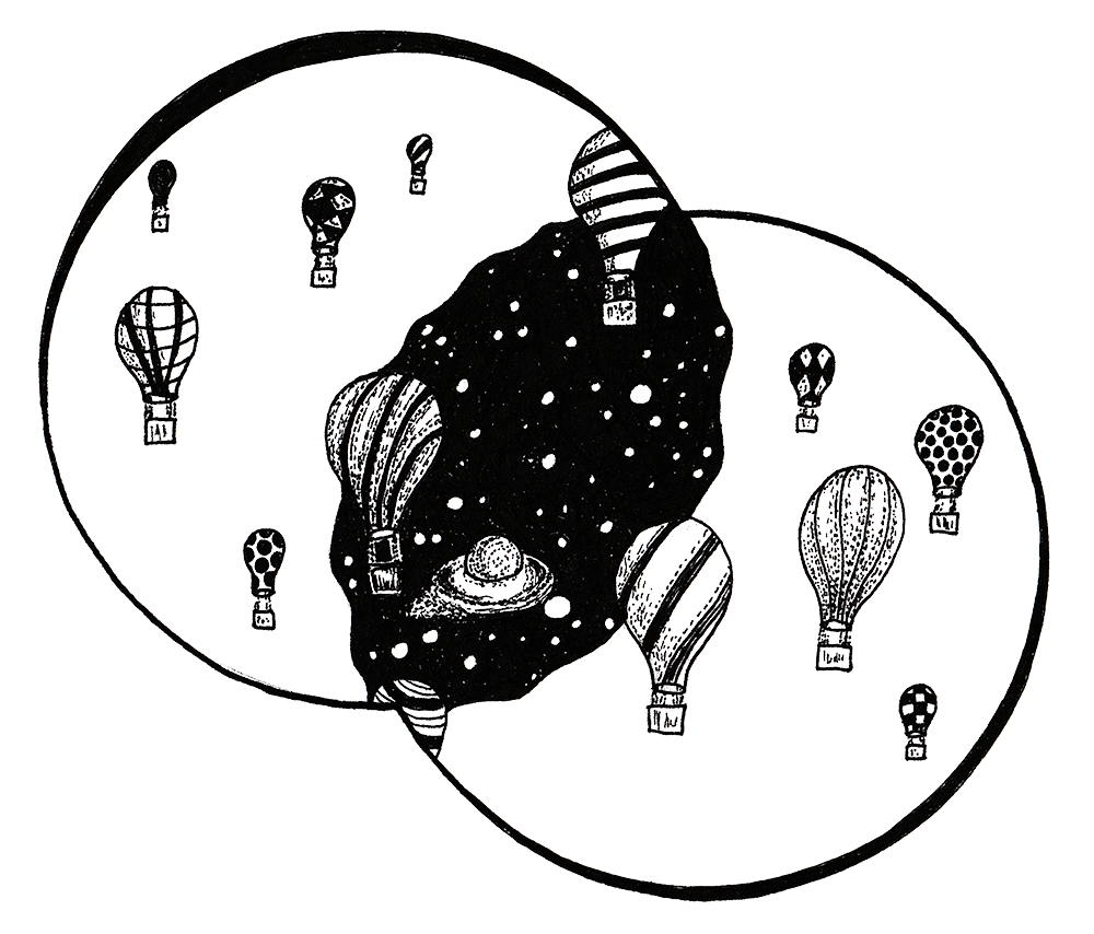 Drawing Galaxies with Fineliners - image 4 - student project