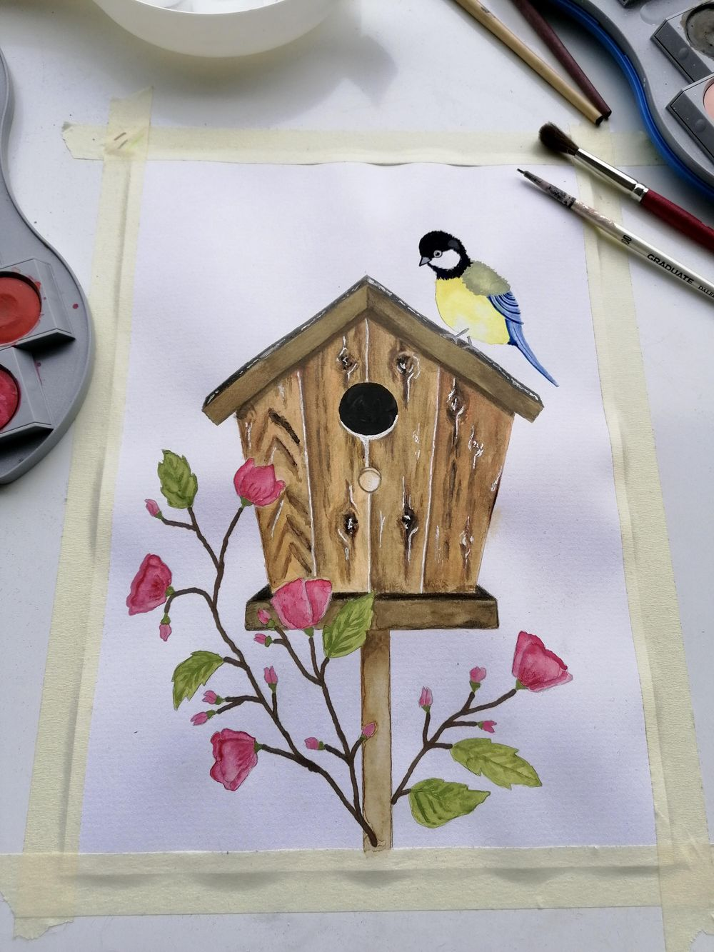 Birdhouse - image 1 - student project
