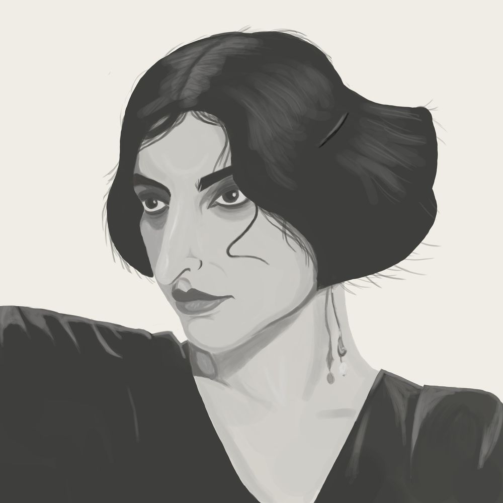 Stylised portrait project - image 3 - student project