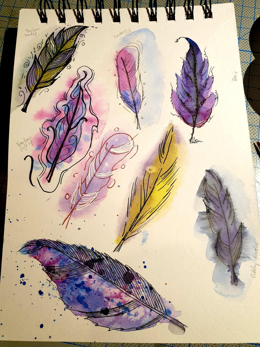 Ink and Watercolor - image 1 - student project