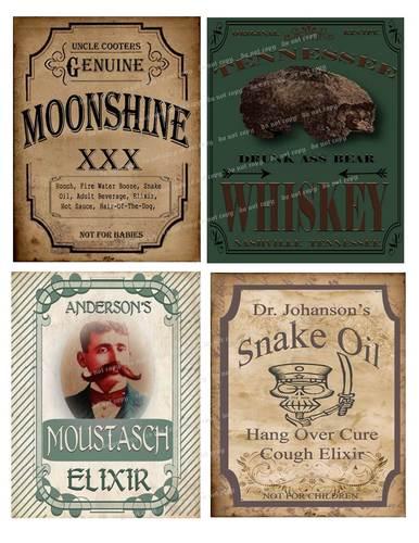 Old Fashion Elixir/Medicine/Whisky/Moonshine - image 8 - student project