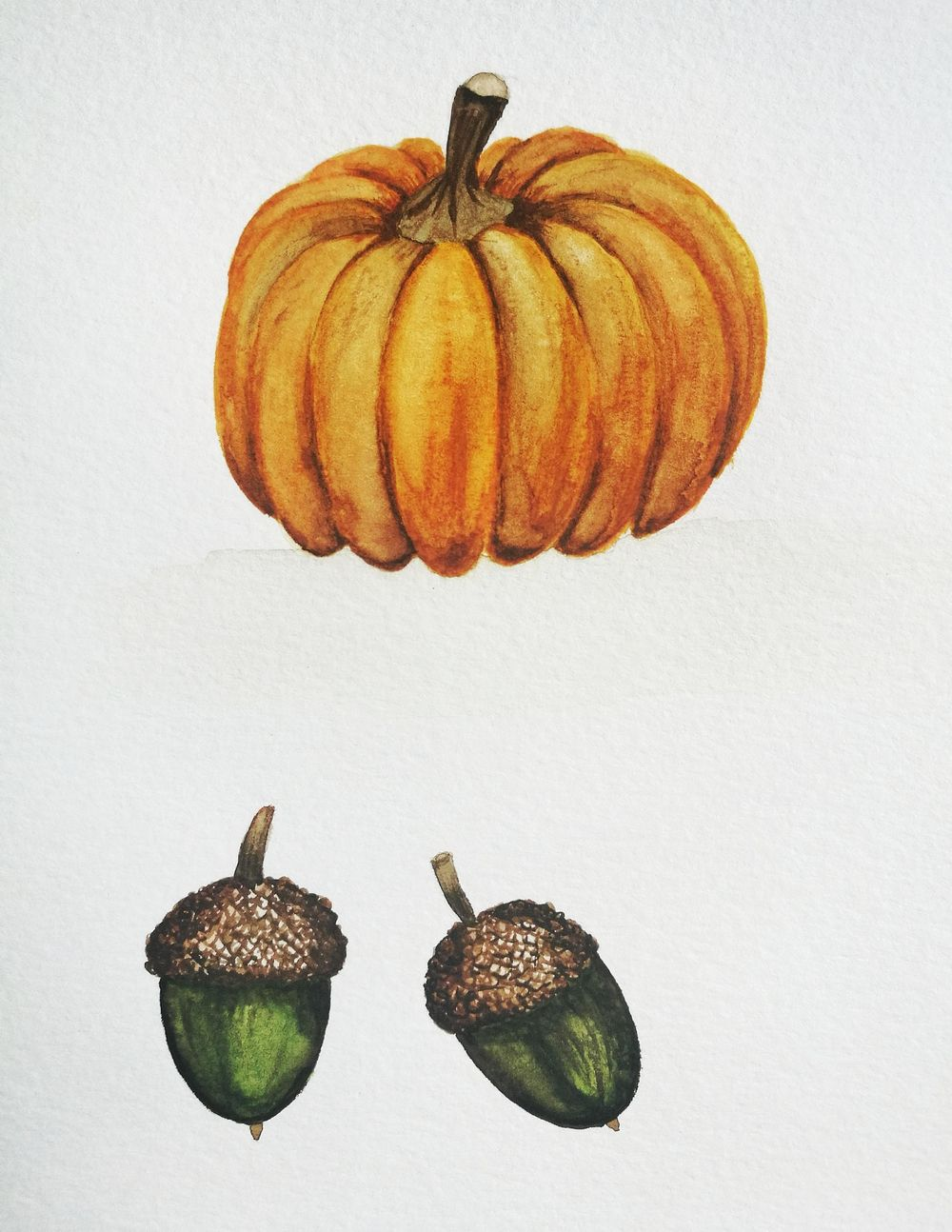 Autumn in Watercolor - image 3 - student project