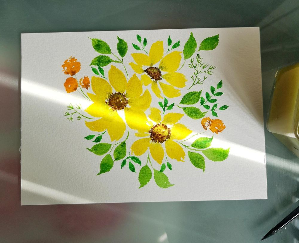 Filler Florals and Leaves - image 1 - student project