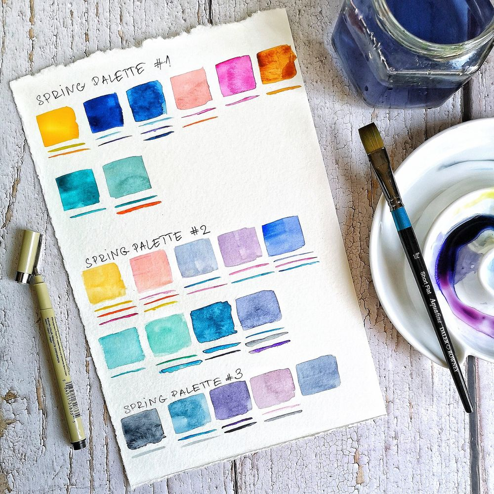 Spring color trends - image 1 - student project