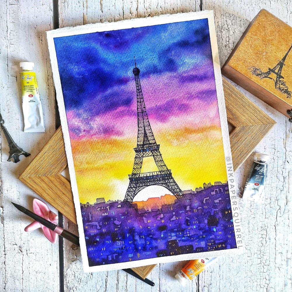 Tour Eiffel - image 1 - student project