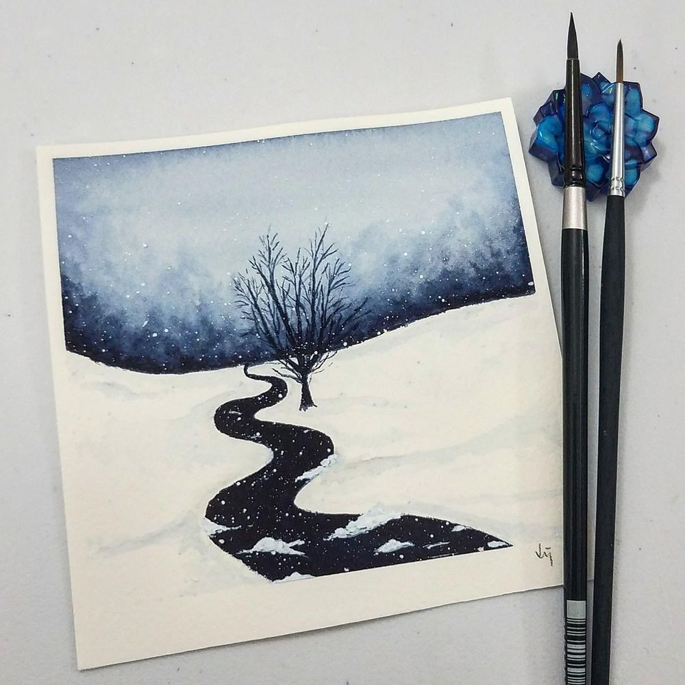 Let it snow - image 1 - student project