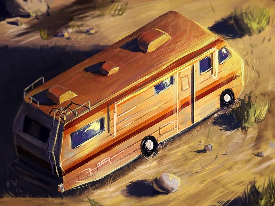 Breaking Bad - RV - image 2 - student project