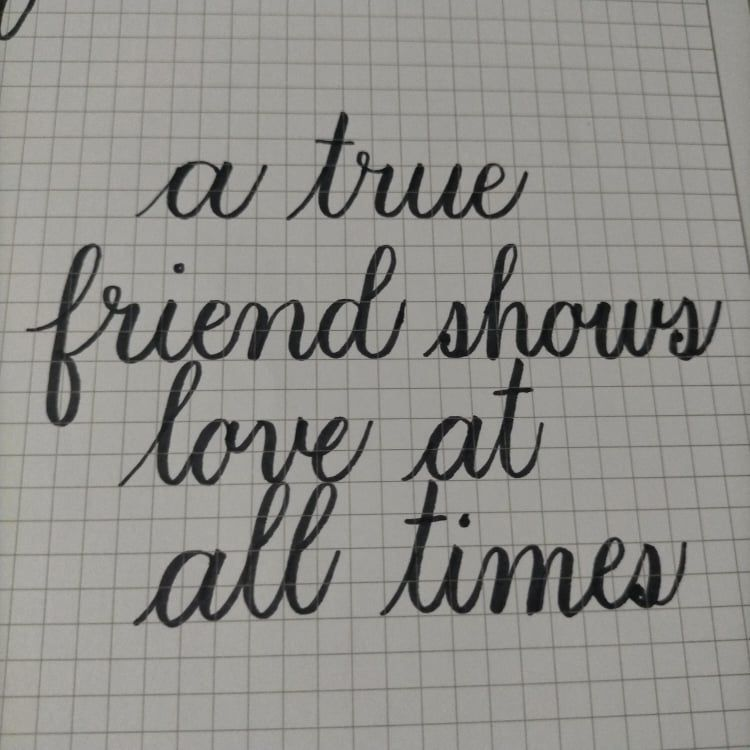 Brush Lettering Basics - Project 2 and 3 - image 2 - student project