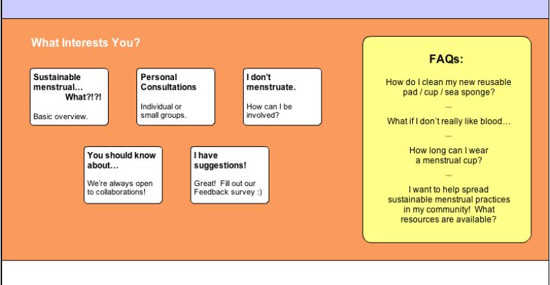 Natural Flow - Sustainable Menstrual Options - image 5 - student project