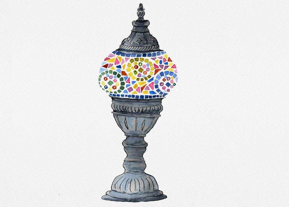 Turkish lamp - image 1 - student project