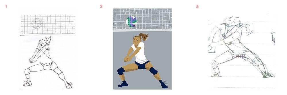 Volleyball Player - image 1 - student project