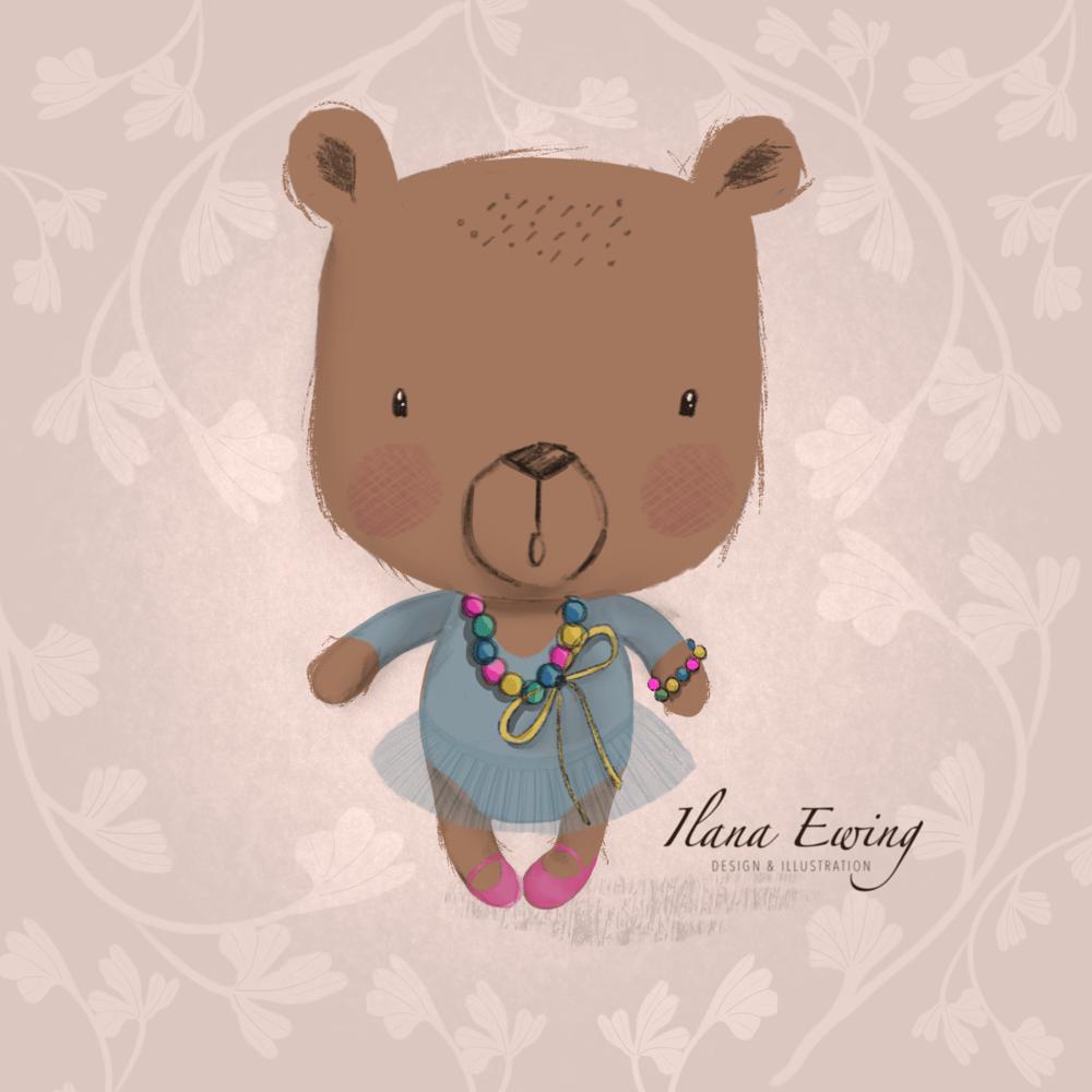Ballerina Bear - by Ilana Ewing - image 1 - student project