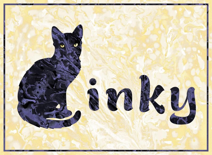 Inky, my first kitty - image 2 - student project