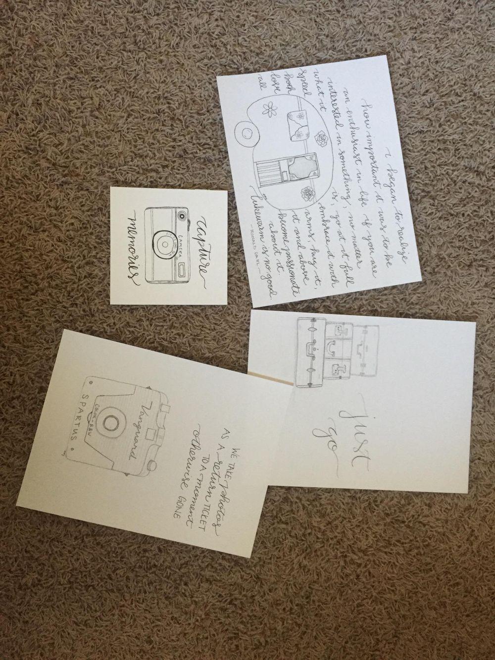 Pattern Design Workshop - Focal Point Patterns - image 2 - student project