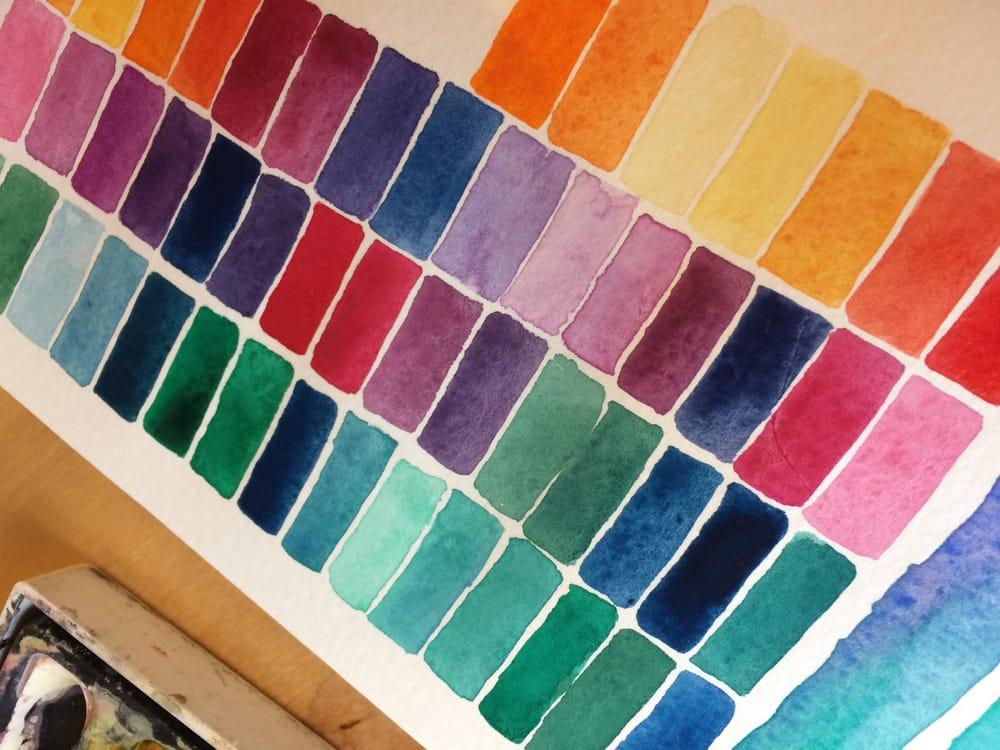 Modern Watercolour Techniques - image 1 - student project