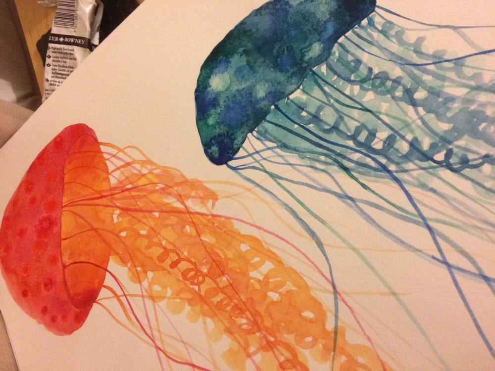 Modern Watercolour Techniques - image 5 - student project