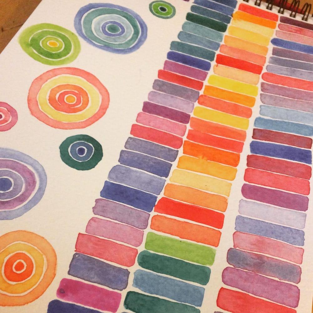 Modern Watercolour Techniques - image 2 - student project