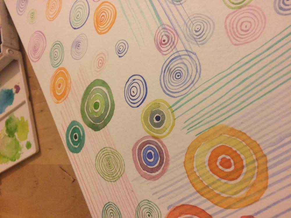 Modern Watercolour Techniques - image 3 - student project