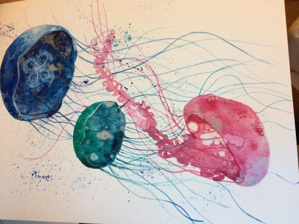 Modern Watercolour Techniques - image 4 - student project