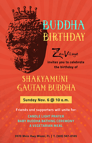 Buddha Birthday Poster - image 2 - student project
