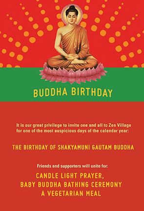Buddha Birthday Poster - image 1 - student project