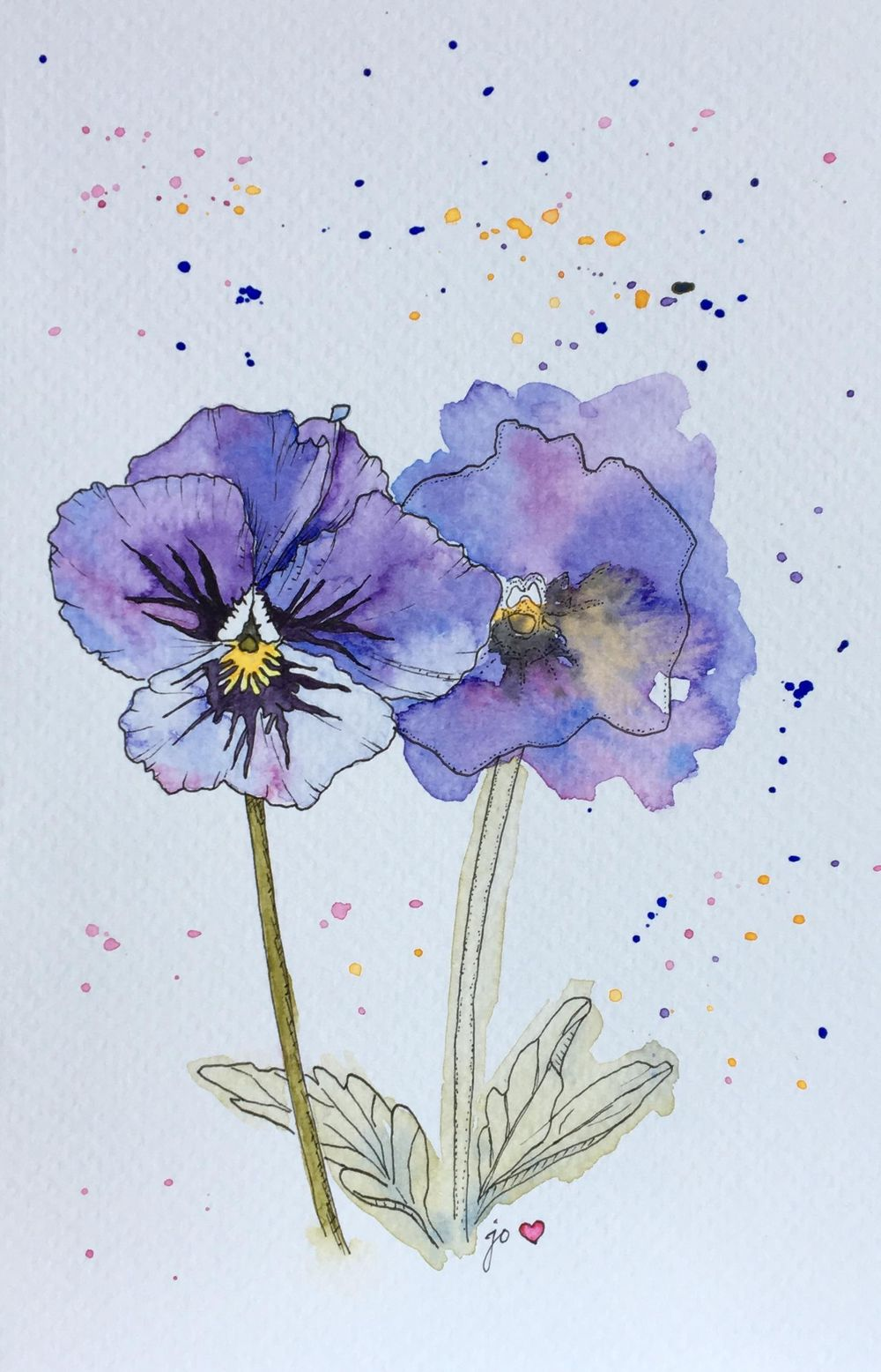 My Pansies :) - image 1 - student project